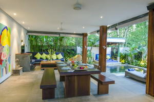Villa Siang - Beautiful 3 Bedroom Villa with a Large Balcony and Small Garden